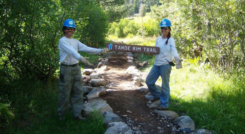 Morgan Steel, Exec. Director of the Tahoe Rim Trail